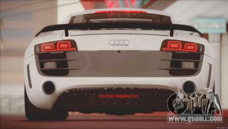 Audi R8 GT 2012 Sport Tuning V 1.0 for GTA San Andreas