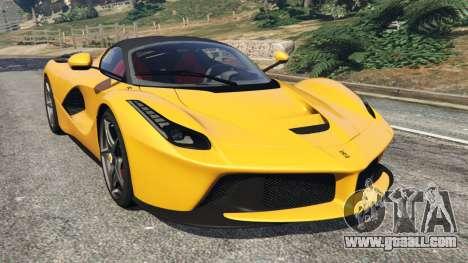 Ferrari LaFerrari 2013 v3.0 for GTA 5