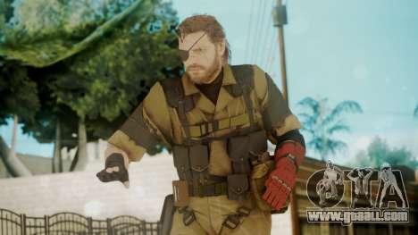Venom Snake Olive Drab for GTA San Andreas