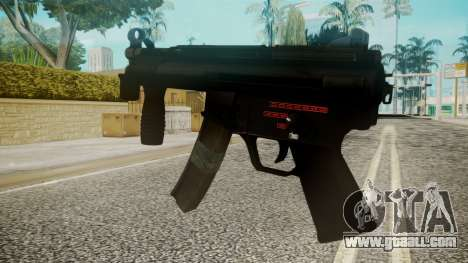 MP5 by EmiKiller for GTA San Andreas second screenshot