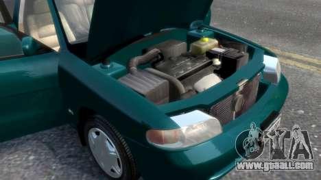Daewoo Nubira I Sedan SX USA 1999 for GTA 4 engine