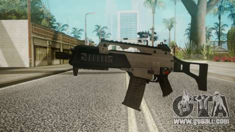 G36C Silver for GTA San Andreas
