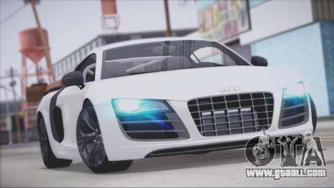 Audi R8 GT 2012 Sport Tuning V 1.0 for GTA San Andreas engine