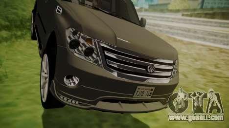 Nissan Patrol IMPUL 2014 for GTA San Andreas inner view
