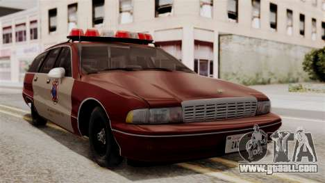 Chevy Caprice Station Wagon 1993-1996 SACFD for GTA San Andreas