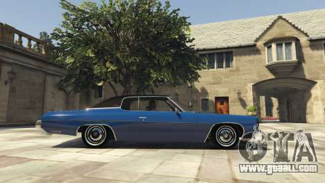 GTA 5 Chevrolet Impala 1972 left side view