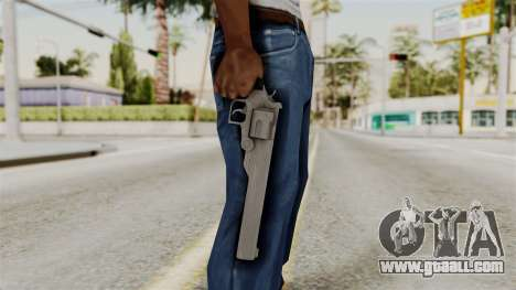 Desert Eagle from RE6 for GTA San Andreas third screenshot