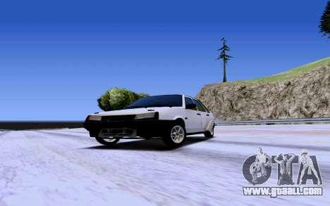 VAZ 2109 Turbo for GTA San Andreas left view