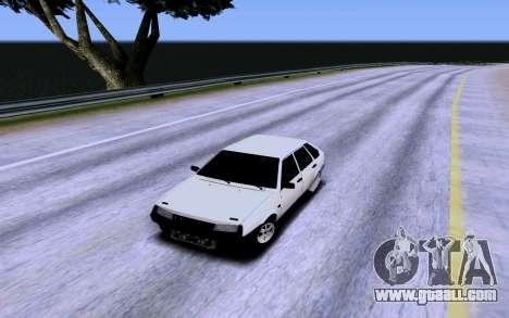 VAZ 2109 Turbo for GTA San Andreas interior