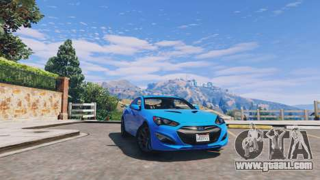 GTA 5 Hyundai Genesis 2013 v0.1 engine