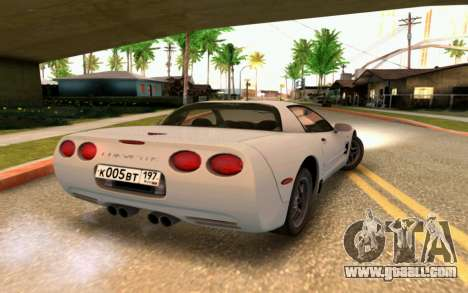 Chevrolet Corvette C5 2003 for GTA San Andreas side view