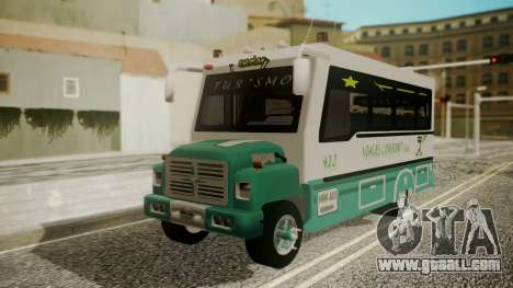 Chevrolet B70 Bus Colombia for GTA San Andreas