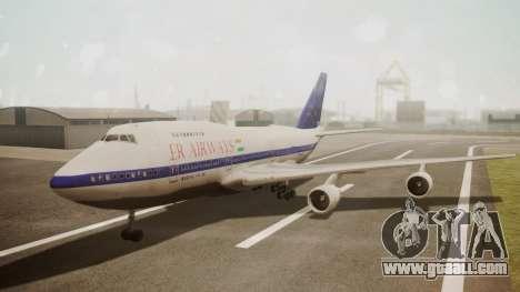 Boeing 747SP ER Airways for GTA San Andreas