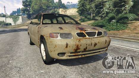 Daewoo Nubira I Wagon CDX US 1999 [Rusty] for GTA 5