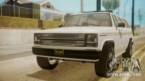 GTA 5 Declasse Rancher XL Police for GTA San Andreas