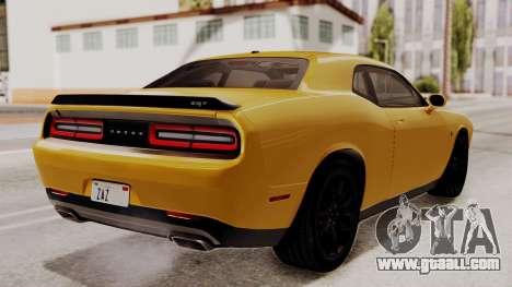 Dodge Challenger SRT Hellcat 2015 IVF PJ for GTA San Andreas left view