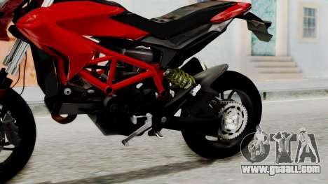Ducati Hypermotard for GTA San Andreas right view