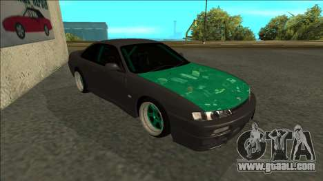 Nissan 200sx Drift for GTA San Andreas left view