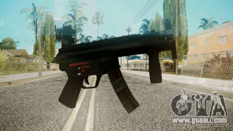 MP5 by EmiKiller for GTA San Andreas