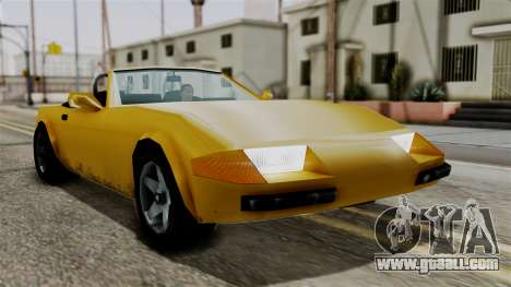 Stinger from Vice City Stories for GTA San Andreas right view