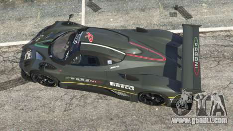 GTA 5 Pagani Zonda R 2009 v0.5 back view
