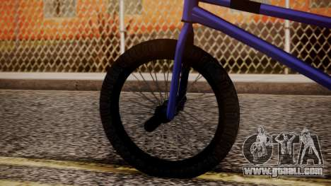 Nueva BMX for GTA San Andreas back left view