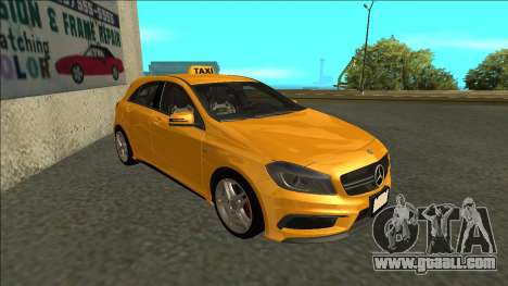 Mercedes-Benz A45 AMG Taxi 2012 for GTA San Andreas left view