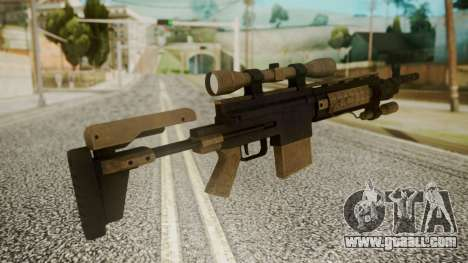 Sniper Rifle from RE6 for GTA San Andreas second screenshot