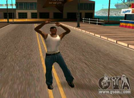 50 Animations v1.0 for GTA San Andreas