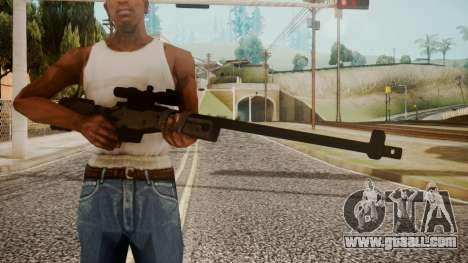 Sniper Rifle by catfromnesbox for GTA San Andreas third screenshot