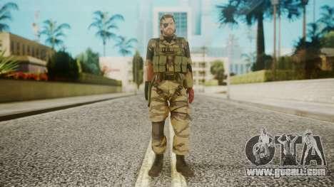 Venom Snake Tiger Stripe for GTA San Andreas second screenshot
