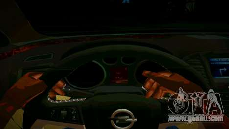 Opel Insignima SCREAM for GTA San Andreas inner view
