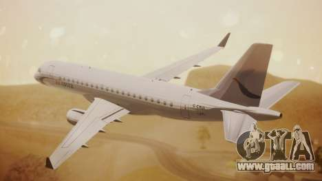 Embraer 170-100 Air Costa for GTA San Andreas left view