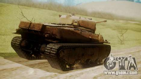 Heavy Tank M6 from WoT for GTA San Andreas left view