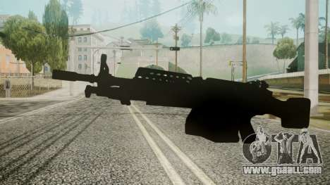 M249 Battlefield 3 for GTA San Andreas second screenshot