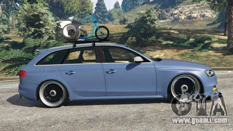 GTA 5 Audi RS4 Avant 2014 left side view