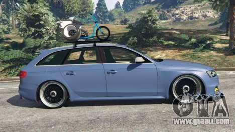 Audi RS4 Avant 2014 for GTA 5