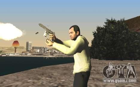 GTA 5 Tec-9 for GTA San Andreas eleventh screenshot
