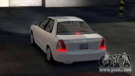 Daewoo Nubira I Sedan SX USA 1999 for GTA 4 right view