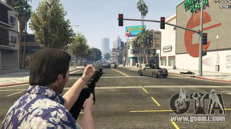 GTA 5 MW3 MP5
