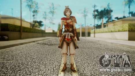Dynasty Warriors 8 - Sun ShangXian (DLC ROTTK) for GTA San Andreas second screenshot
