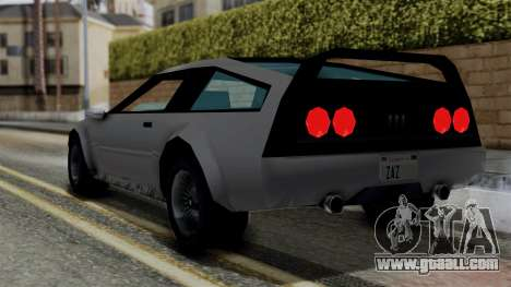 Deluxo from Vice City Stories for GTA San Andreas left view