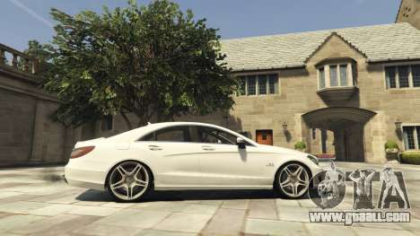 GTA 5 Mercedes-Benz CLS 6.3 AMG [BETA] left side view