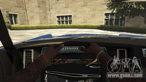 GTA 5 Chevrolet Impala 1972 back view