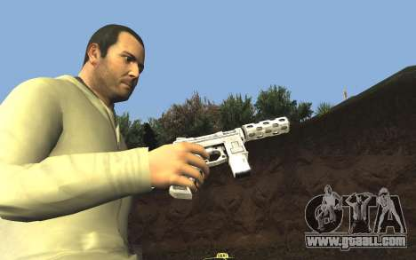 GTA 5 Tec-9 for GTA San Andreas seventh screenshot