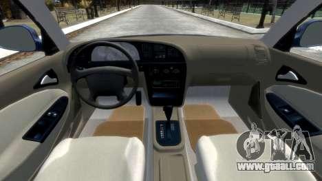 Daewoo Nubira II Sedan SX USA 2000 for GTA 4 side view