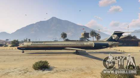 GTA 5 McDonnell Douglas MD-80 third screenshot