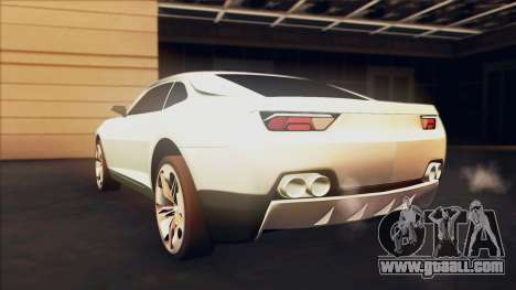 Chevrolet Camaro DOSH Tuning v0.1 Beta for GTA San Andreas left view