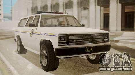 GTA 5 Declasse Rancher XL Police IVF for GTA San Andreas