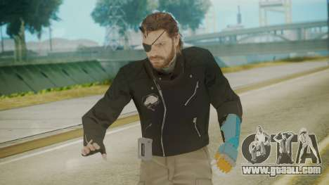 Venom Snake [Jacket] Hand of Jehuty Arm for GTA San Andreas